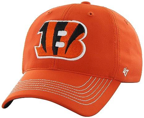 b019548f903e6a NFL Cincinnati Bengals '47 Brand Game Time Closer Stretch Fit Hat, Orange,  One