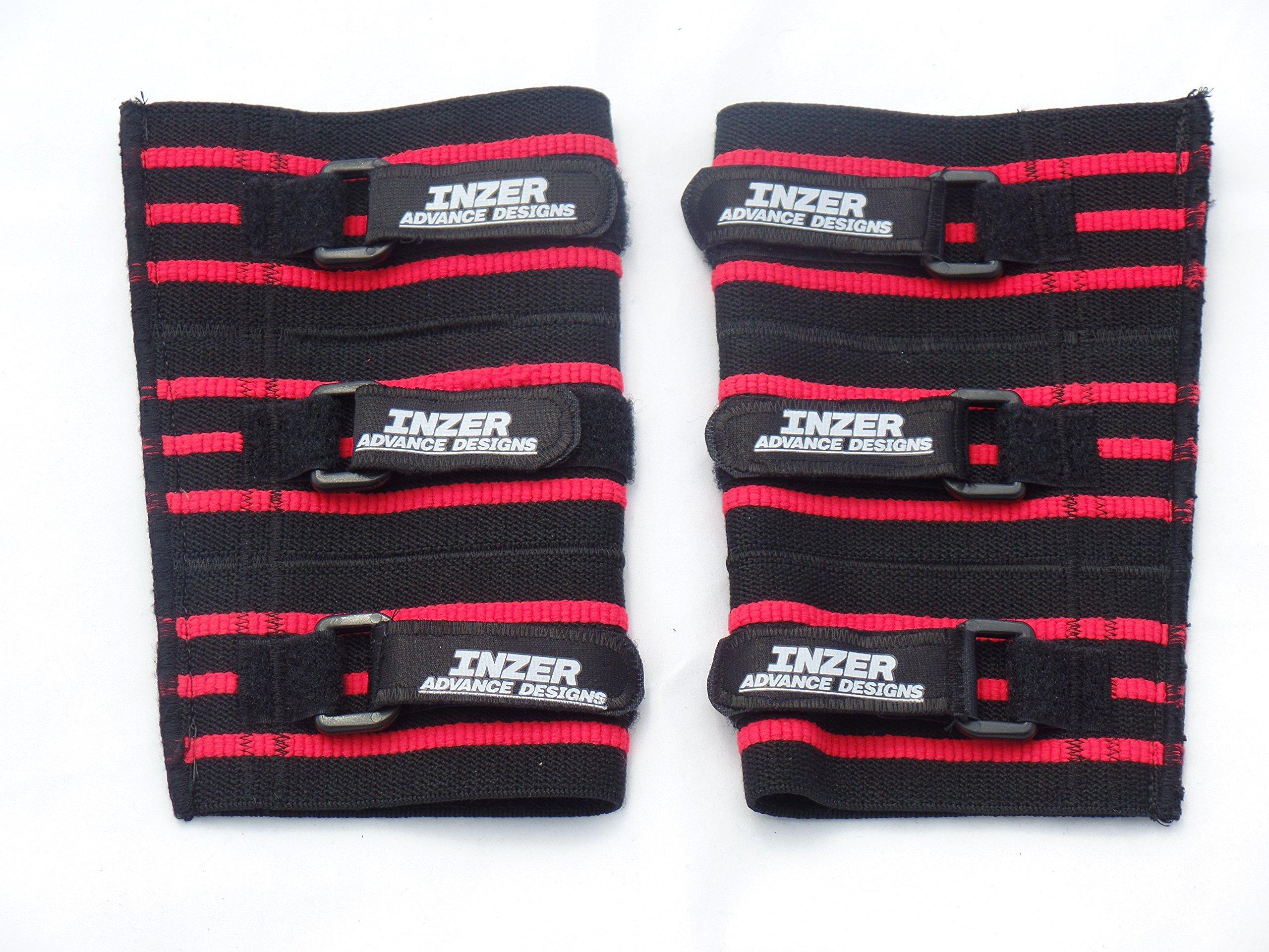Inzer Advance Designs XT Elbow Sleeves 2XLarge Black
