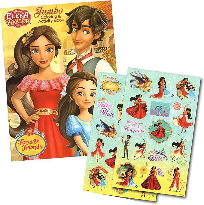- Amazon.com: Elena Of Avalor Coloring Book With Elena Stickers (Elena Of  Avalor): Toys & Games