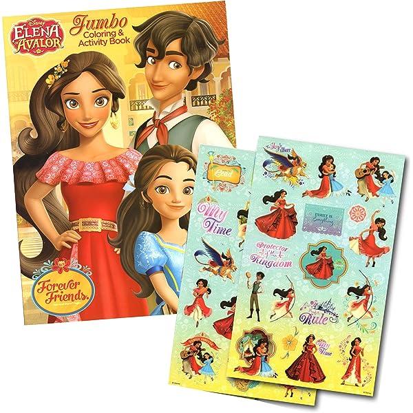 - Elena Of Avalor Coloring Book With Elena Stickers (Elena Of Avalor): Toys &  Games - Amazon.com