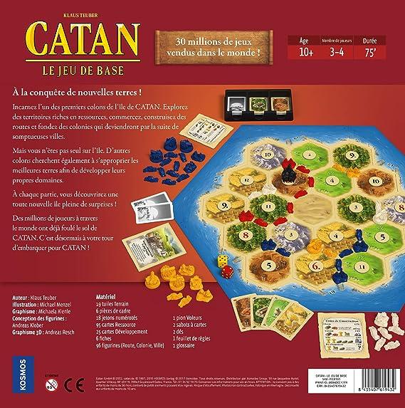 Asmodee – Sociedad – Catan – El Juego de Base, ficat01, NC: Amazon.es: Juguetes y juegos