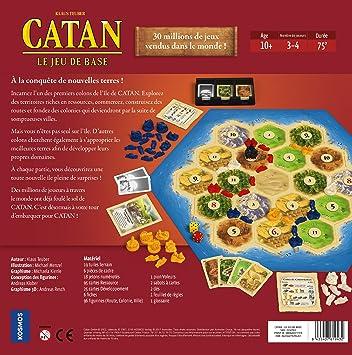 Asmodee - Sociedad - Catan - El Juego de Base, ficat01, NC: Amazon ...