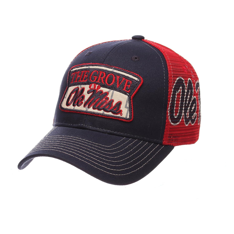 Amazon.com   ZHATS NCAA Mississippi Old Miss Rebels Men s Interstate  Trucker Cap 28d419f10b70