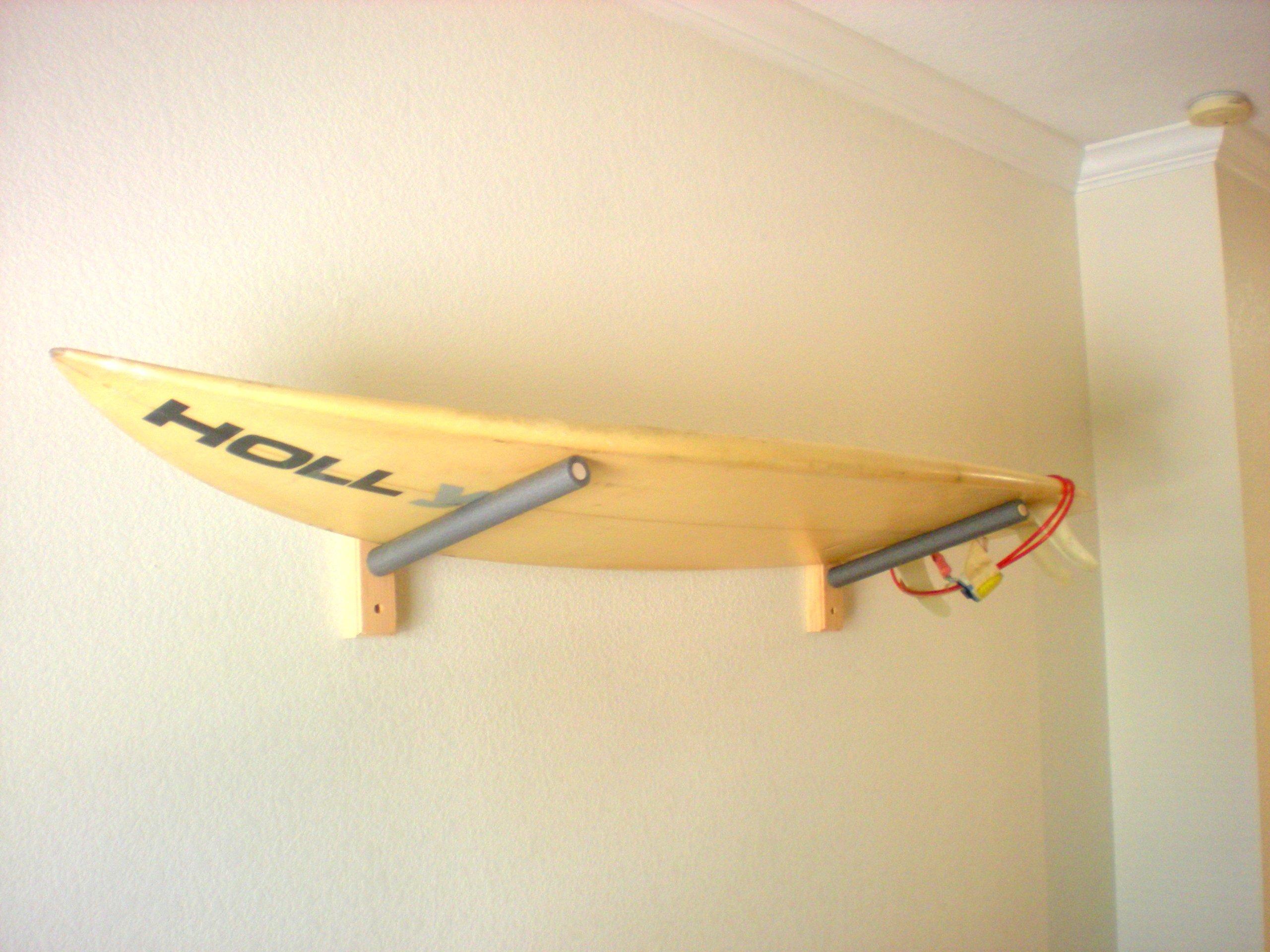 Surfboard Wakeboard Wall Rack Mount - Holds 1 Board