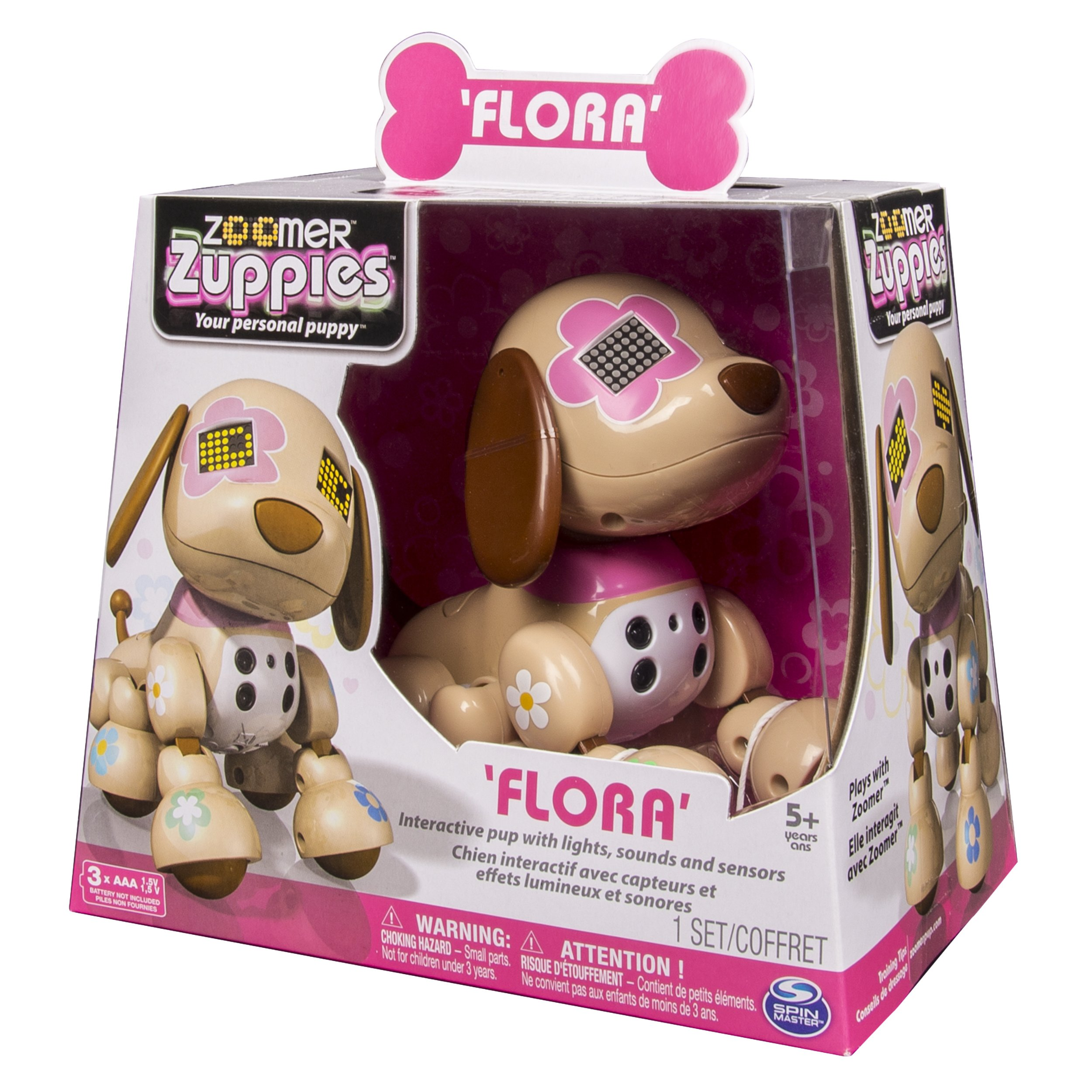 Zoomer Zuppies Interactive Puppy, Flora by Zoomer (Image #4)