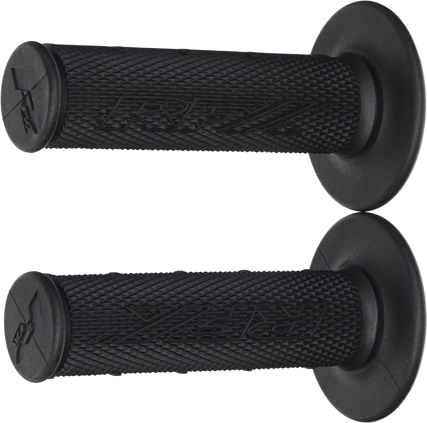 RFX Pro Series Dual Compound Handlebar Grips in Blue and Black