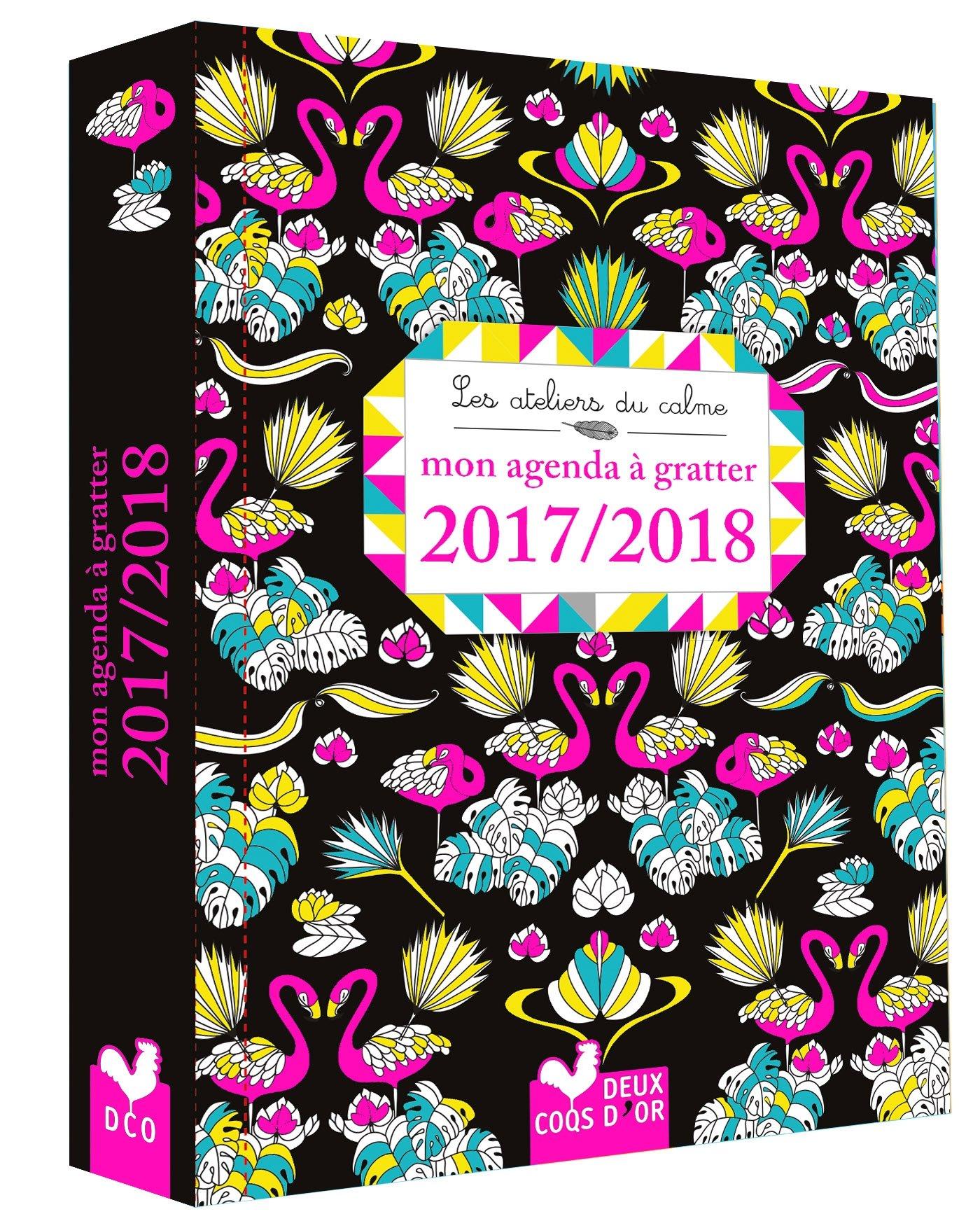 Mon agenda à gratter 2017-2018 Les ateliers du calme: Amazon ...