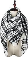 Vivian & Vincent Soft Classic Luxurious Blanket Tartan Square Scarf Wrap