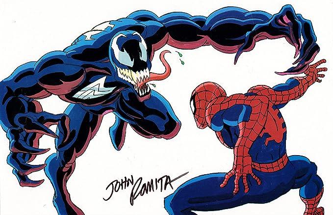 Spider Man The Animated Series Venom Vs Spider Man Acetate Animation