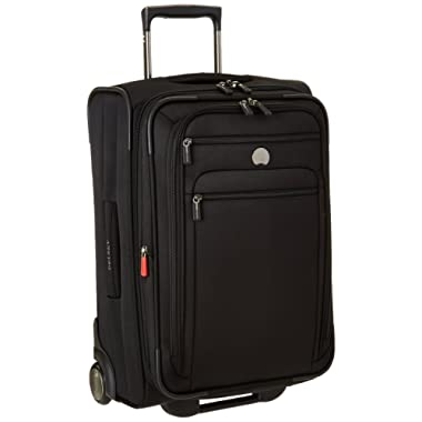 Delsey Luggage Helium Sky 2.0, Carry On Luggage, Suitcase, Black