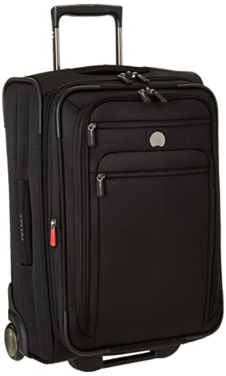 68aa7c2cc Amazon.com   DELSEY Paris Delsey Helium Sky 2.0, Carry On Luggage, Suitcase,  Black   Carry-Ons