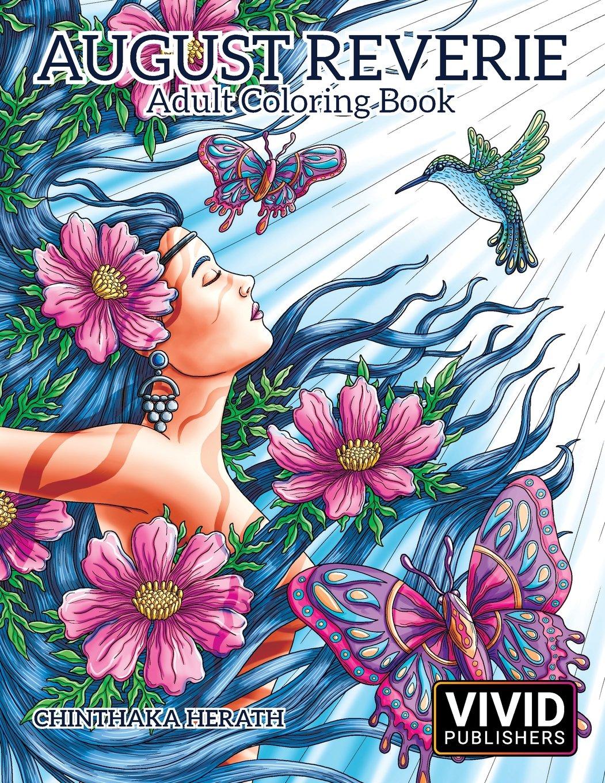 Amazon.com: August Reverie: Adult Coloring Book (Volume 1 ...