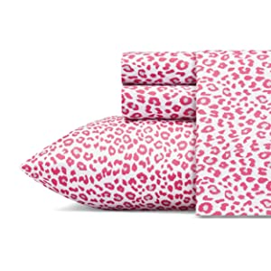 Betsey Johnson Sheet Set, Twin, Betseys Leopard