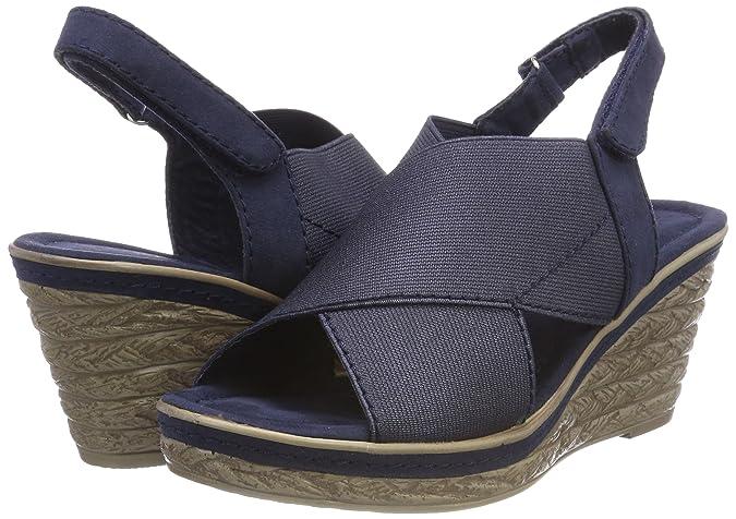 MARCO TOZZI 28351, Sandales Bride arrière Femme  Amazon.fr  Chaussures et  Sacs 4e3d6980ba7a