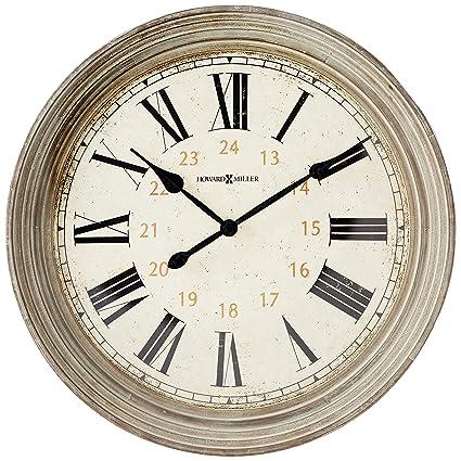 Amazon Com Howard Miller Wall Clock 625 626 Nesto Home Kitchen