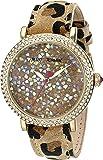 Betsey Johnson Women's BJ00426-03 Analog Display Quartz Multi-Color Watch