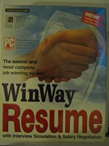 WINWAY RESUME Version 4.0 with internet