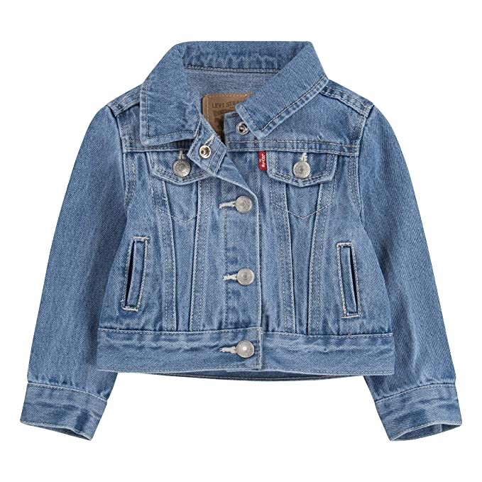 Levis Baby Girls Denim Trucker Jacket