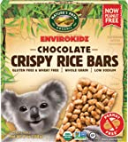 Envirokidz Organic Gluten Free Crispy Rice Bars, Koala Chocolate, 6 Ounce (Pack of 6)