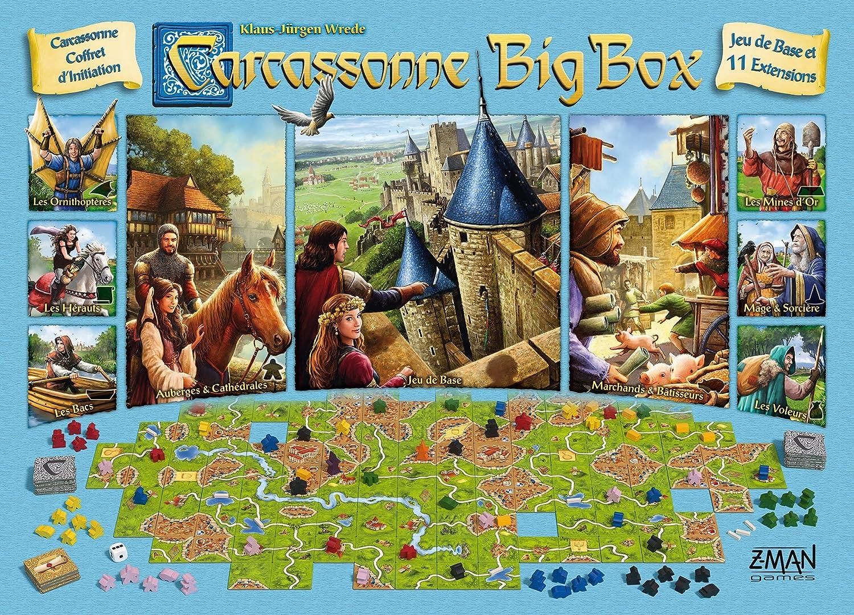 Carcassonne Big Box 2017.: Amazon.es: Juguetes y juegos