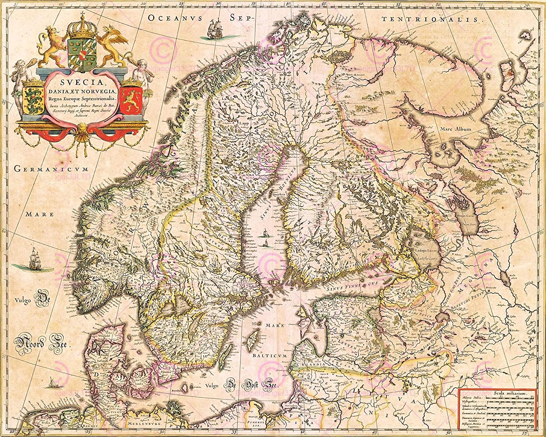 MAP 1850 MOULE CORNWALL COUNTY HISTORIC HERALDIC REPLICA POSTER PRINT PAM0313
