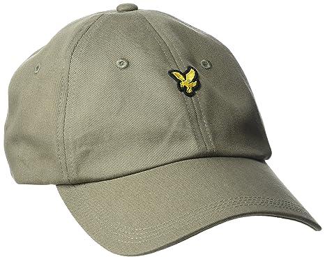 80dc9cbaa3 Lyle & Scott cap, Cappellino da Baseball Uomo, Verde (Khaki 303 ...