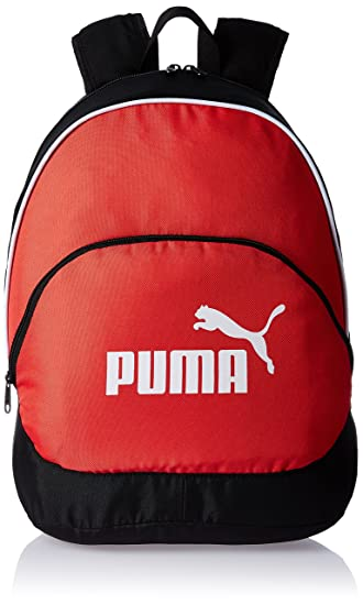 91c51abd1824 Puma Red and BlackCasual Backpack (7494802)  Amazon.in  Bags ...
