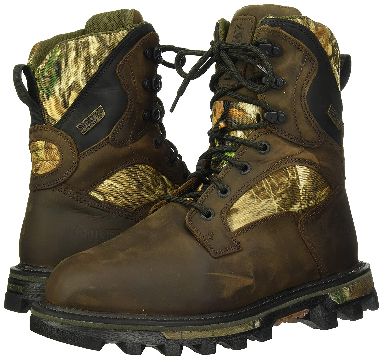 f1df13db678 Rocky Men's 8'' Bearclaw FX 800g Insulated Waterproof Outdoor Boots