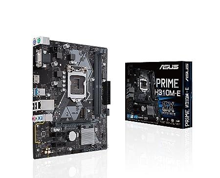 Asus Prime H310M-E LGA1151 300 Series DDR4 HDMI VGA mATX Motherboard (PRIME H310M-E) Motherboards at amazon