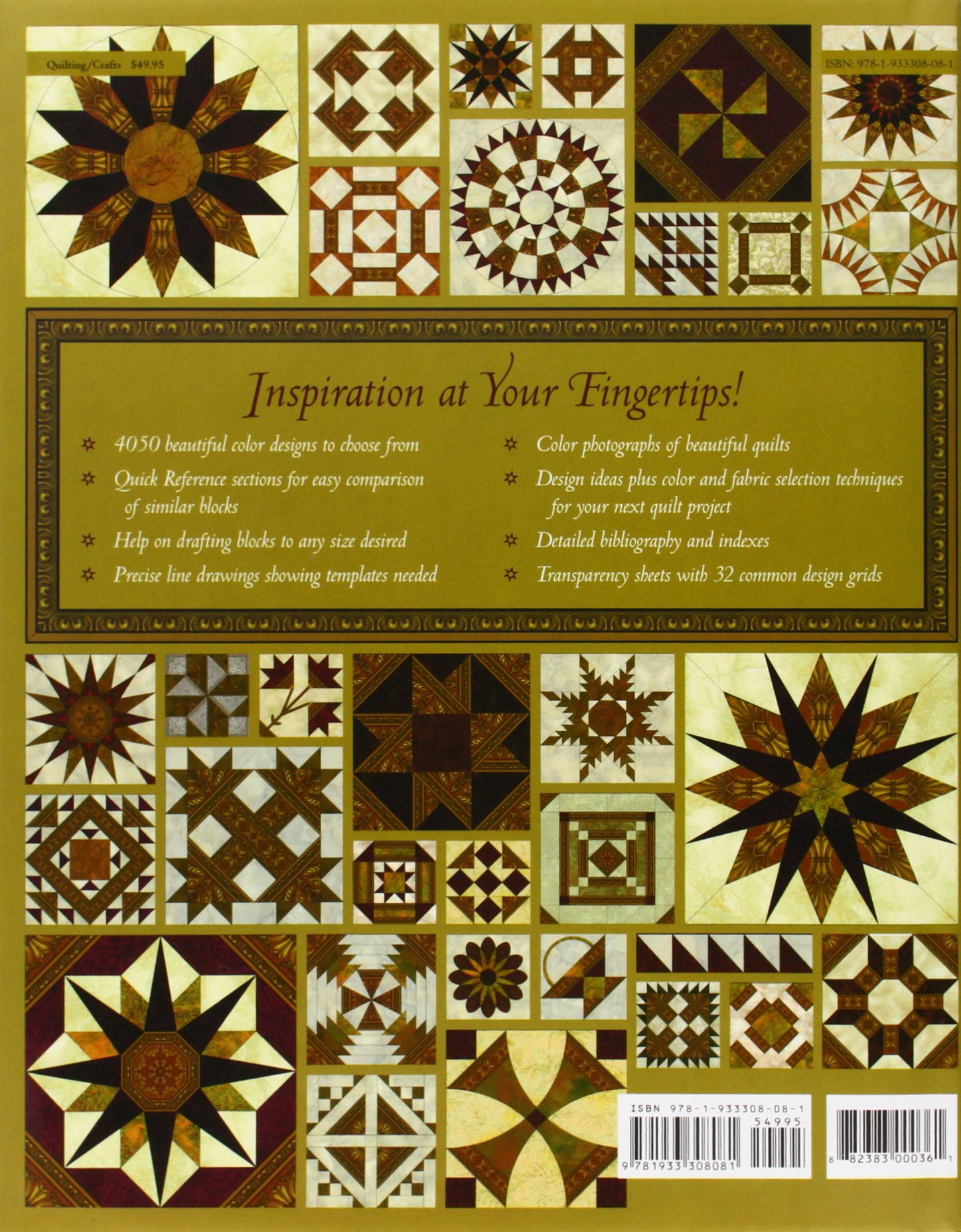 The Quilter's Album of Patchwork Patterns: More Than 4, 050
