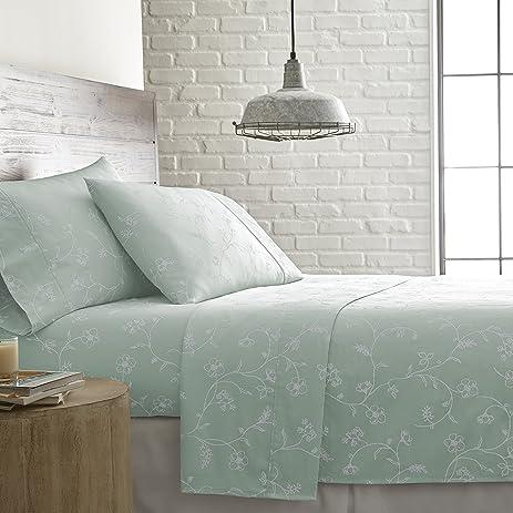 Amazon Com Southshore Fine Linens Briteyarn Sweetbrier Print Rh Amazon Com Sofa  Sleeper With Queen Air Mattress Full Size Sleeper Sofa Sheets