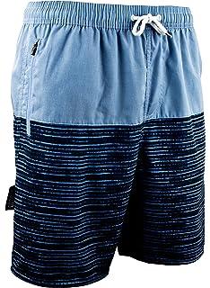 GUGGEN Mountain Homme Short De Bain Plage Natation Bermuda Pant Court De  Sport Maillot De Bain 87c054d2305