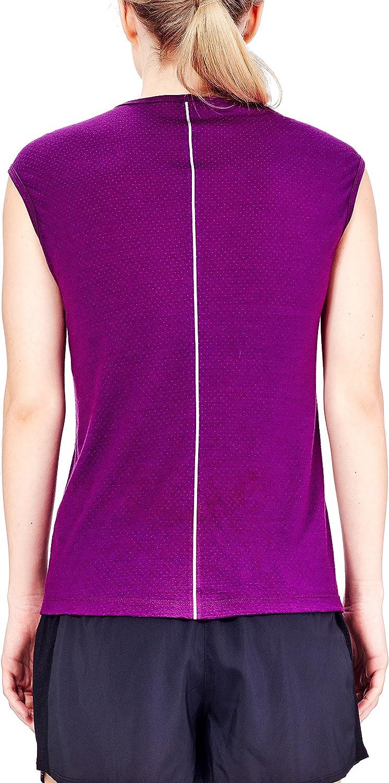 Merino Wool Icebreaker Merino Womens Comet Lite Cap Sleeve Shirt