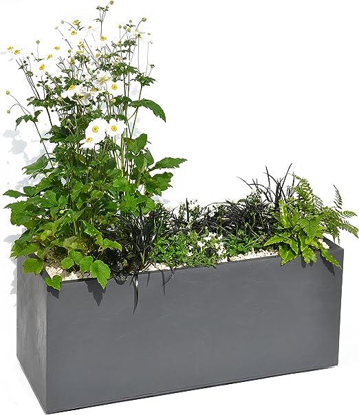 Bac à plantes Vera 40 Anthracite