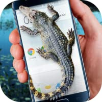 Crocodile in Phone Big Joke