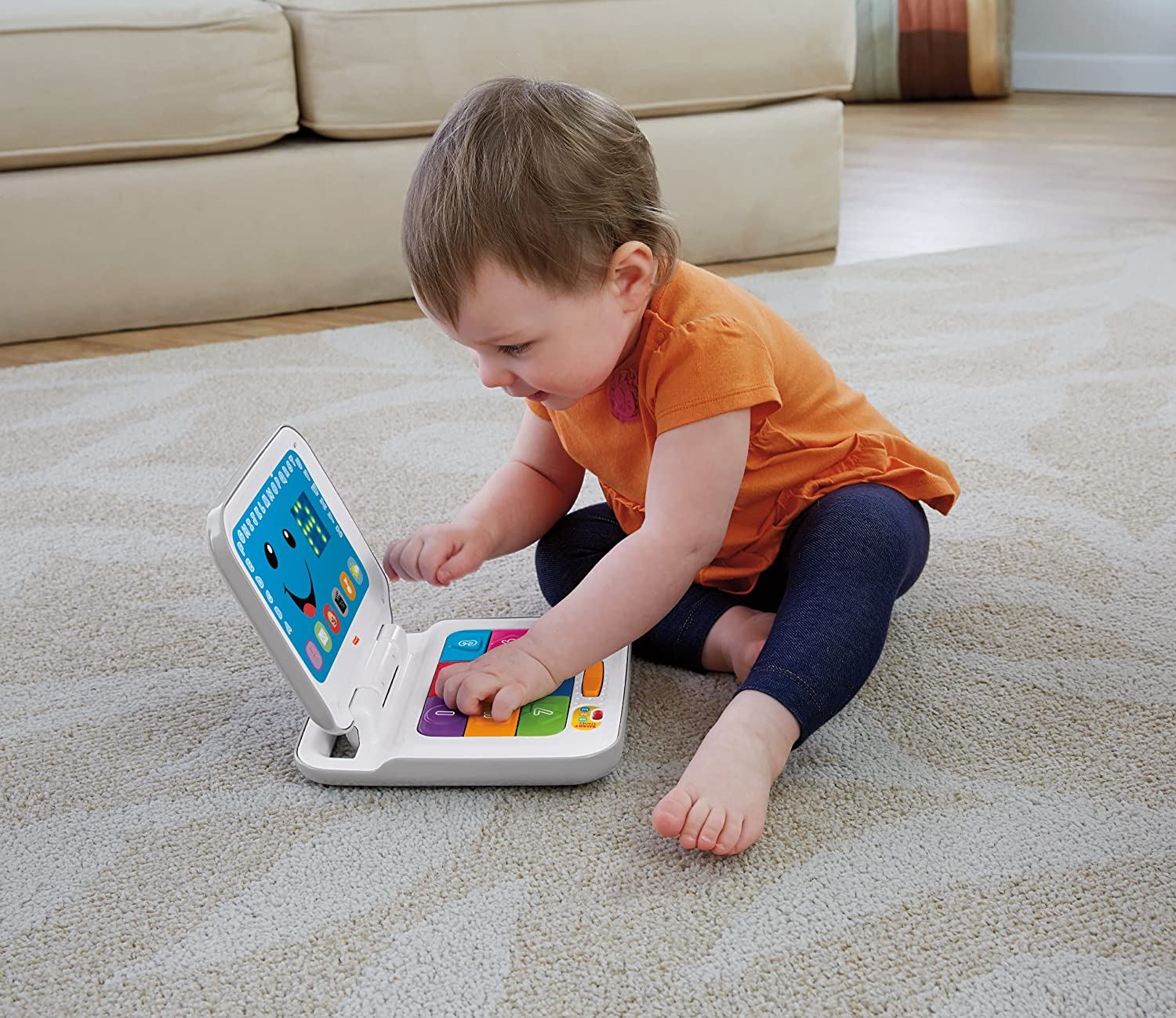 Toddler Laptop Toy Baby Kids Fisher Price Learning Laugh Learn