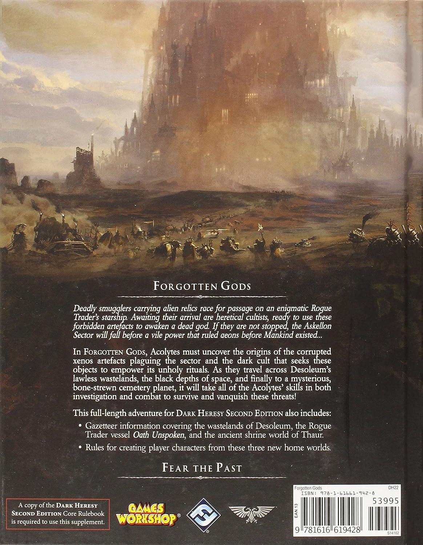 Fantasy Flight Games Dark Heresy RPG: Forgotten Gods Adventure