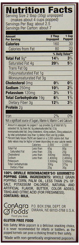 gourmet microwave popcorn brown bag