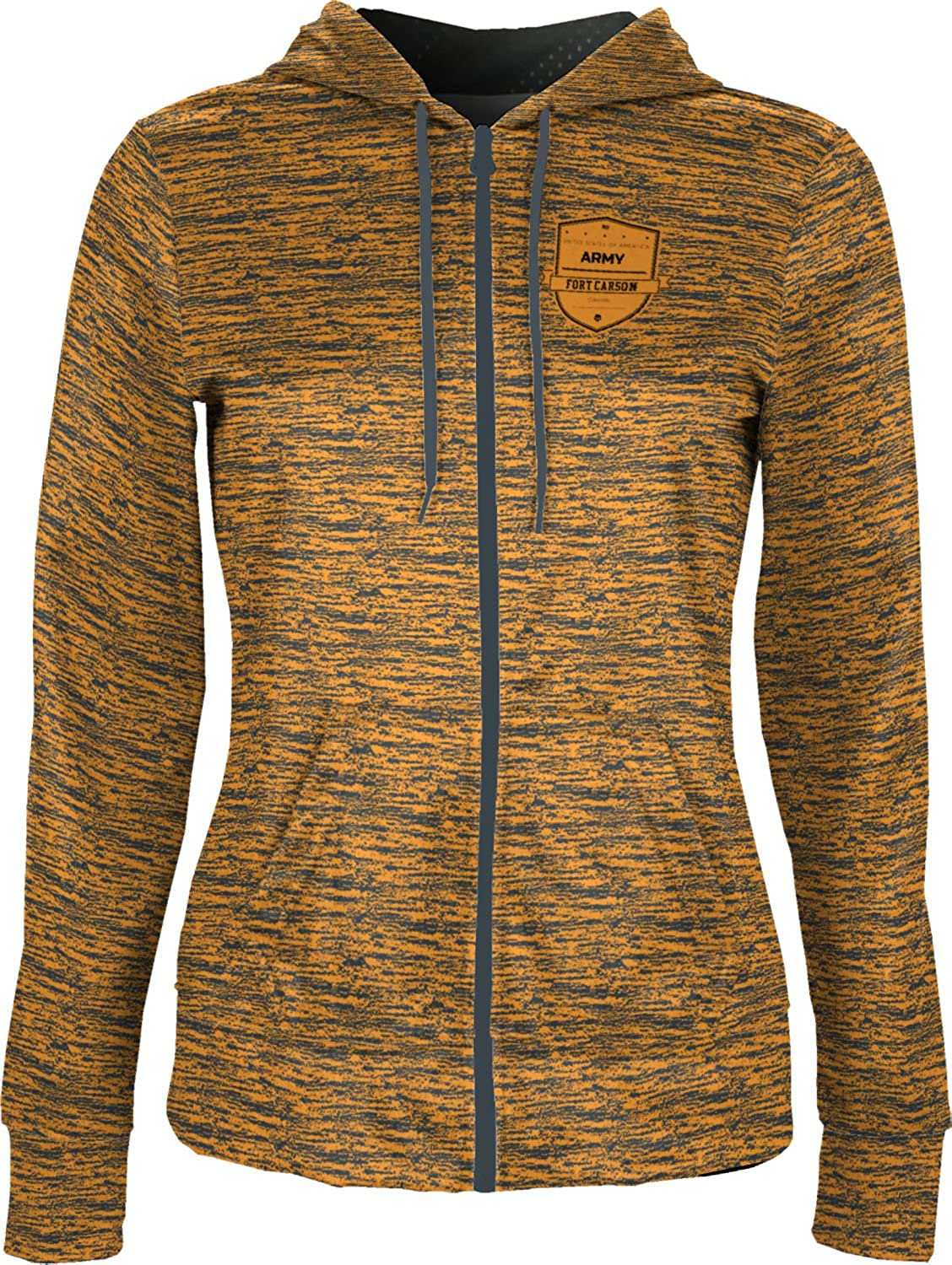 ProSphere Women's Fort Carson Military Brushed Fullzip Hoodie