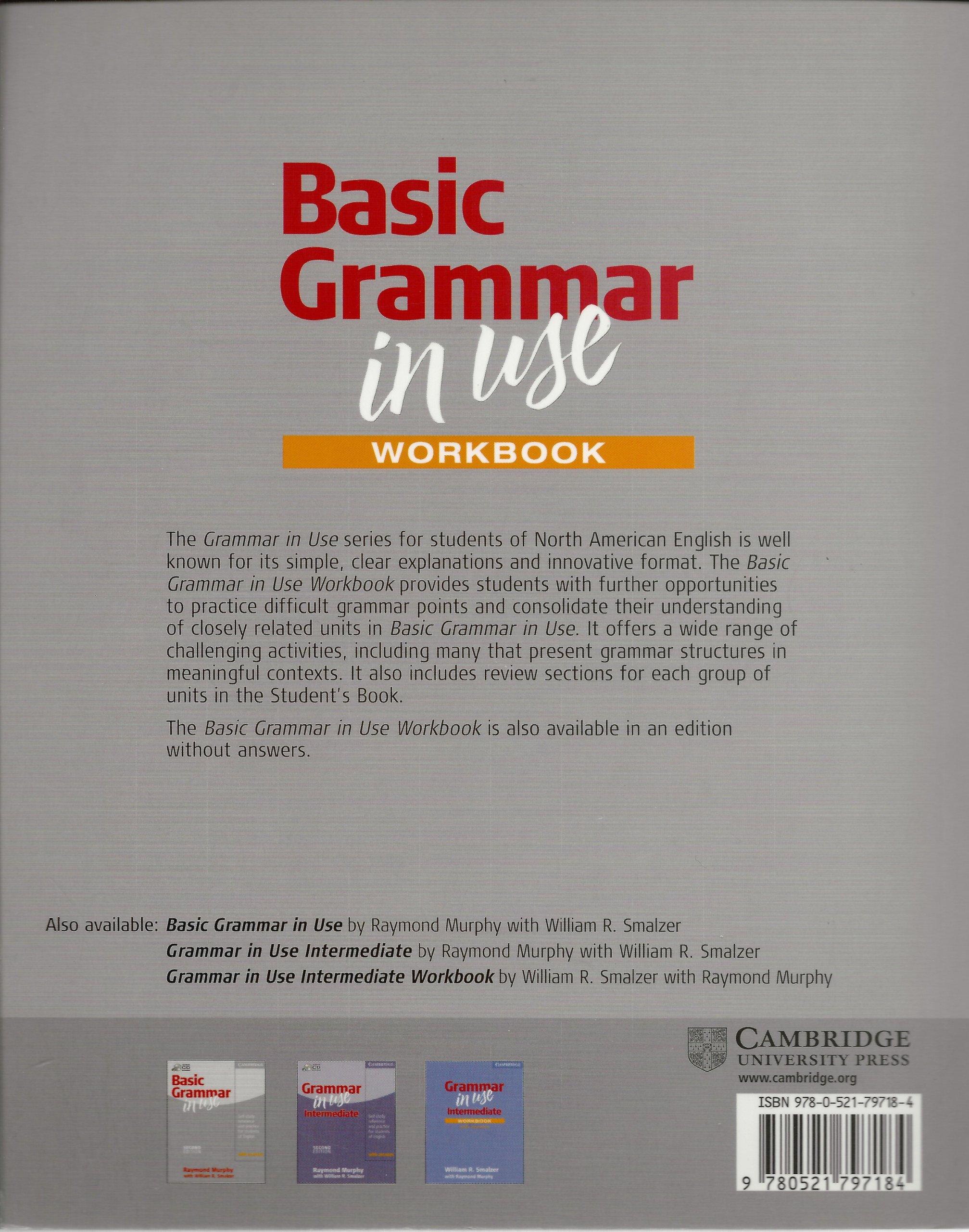Basic Grammar in Use Workbook
