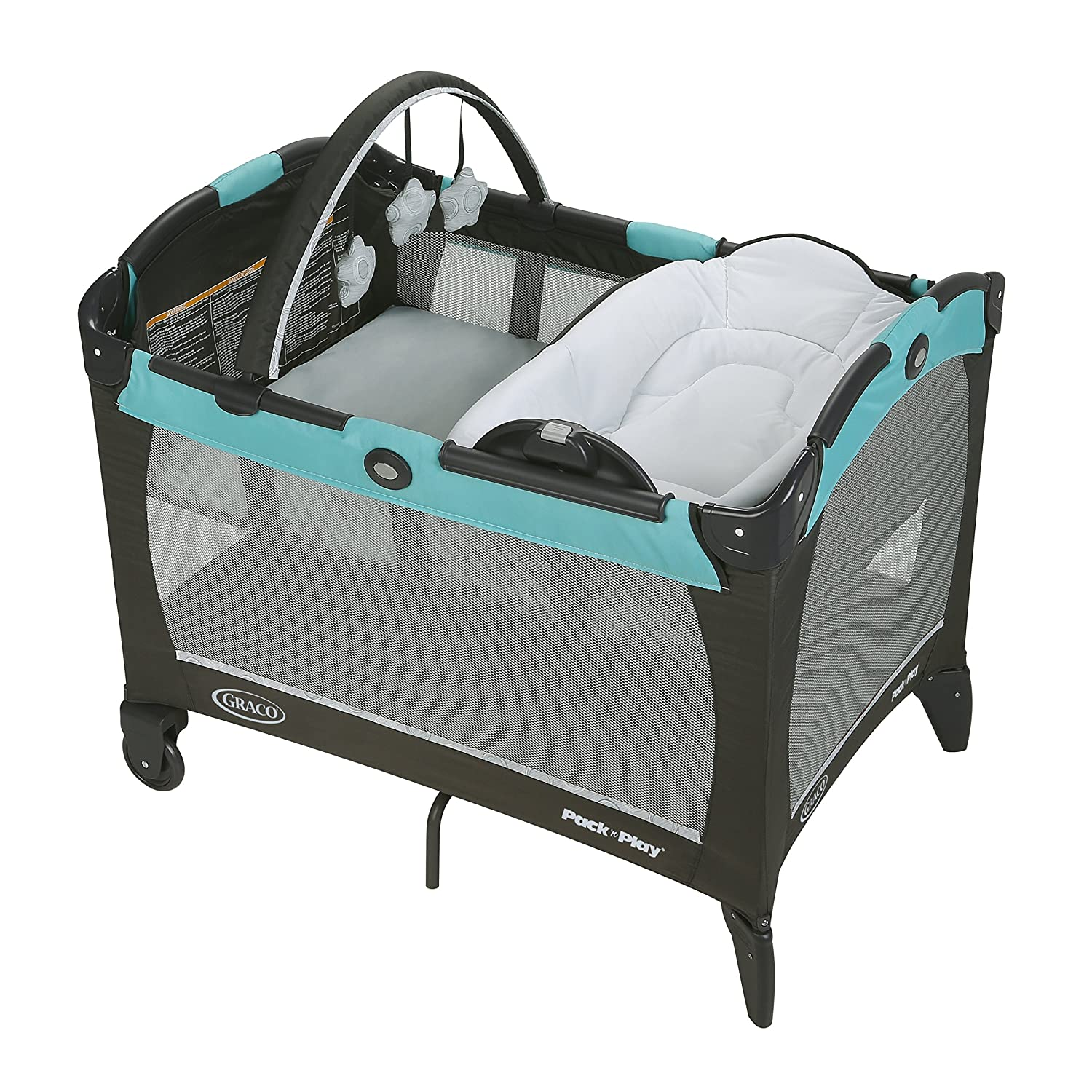 Graco Pack 'n Play with Reversible Lounger & Changer, Briar 1996208