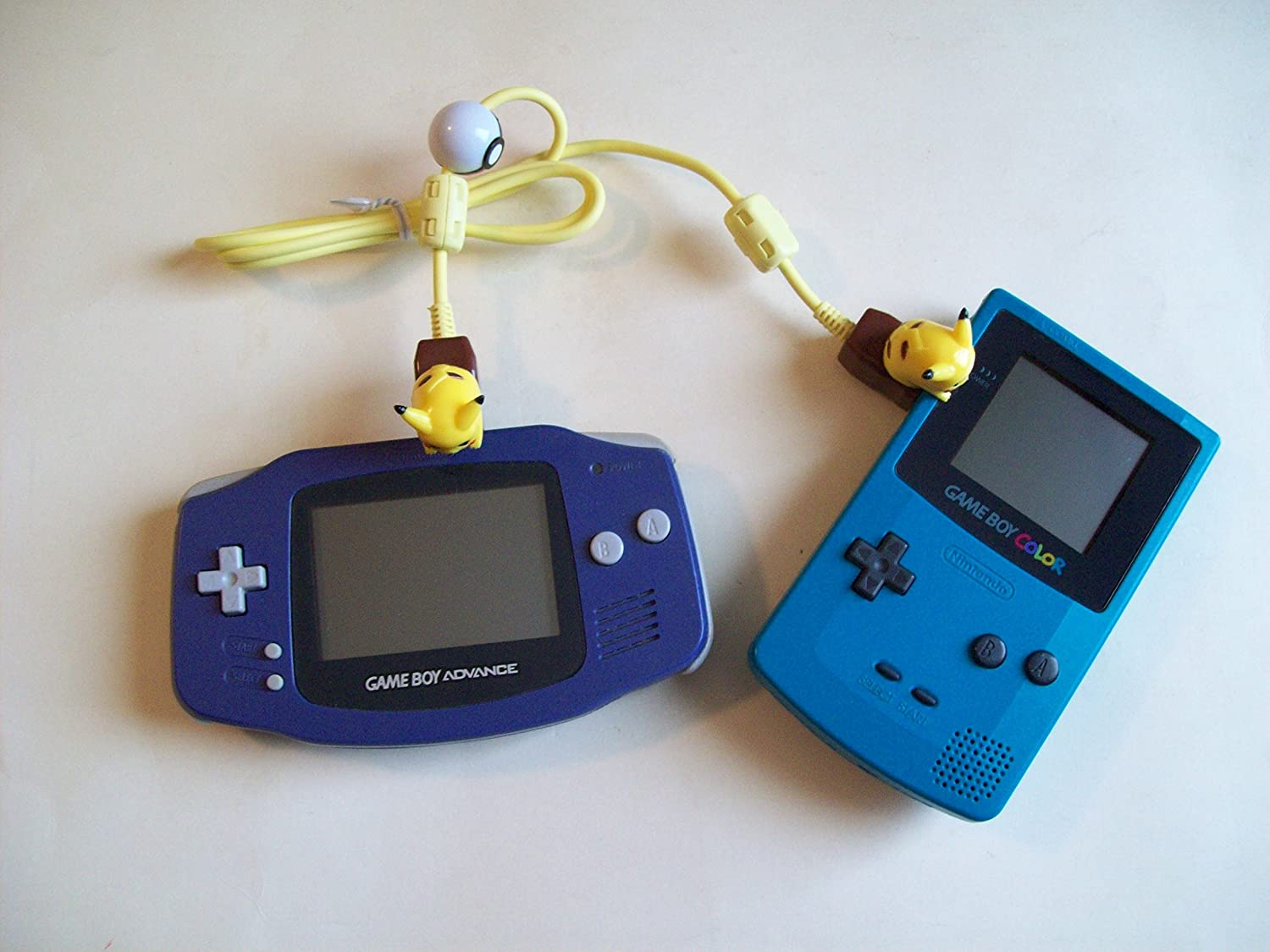 Game boy color link cable - Amazon Com Link Cable For Game Boy Color Pokemon Pikachu Video Games