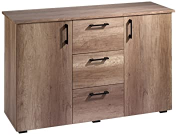 Cavadore Design Sideboard Swing 01 Moderne Kommode In Monument Oak