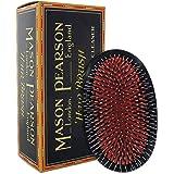 MASON PEARSON Large Military Style Bristle & Nylon Popular Hair Brush with Cleaner (Model: BN1M)
