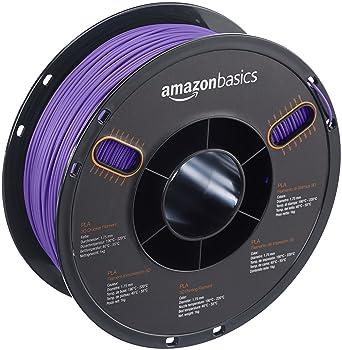 AmazonBasics – Filamento de PLA para impresora 3D, 1,75 mm, Morado ...