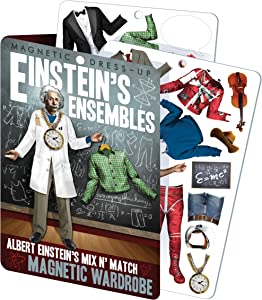 Einstein's Ensembles - Albert Einstein Magnetic Dress Up Doll Play Set