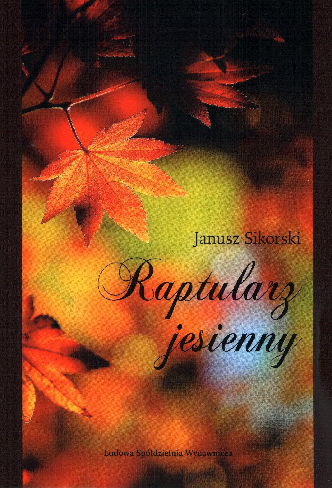 Amazonfr Raptularz Jesienny Janusz Sikorski Livres