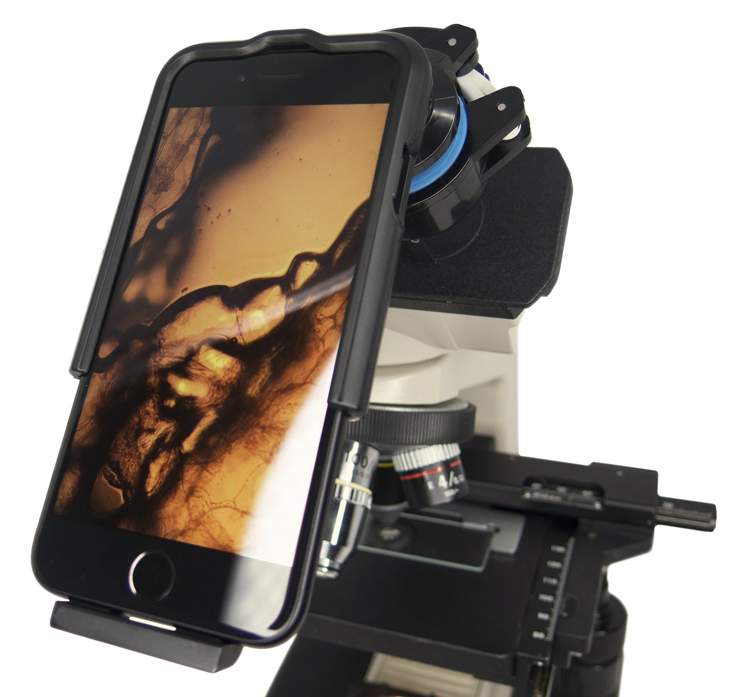 Magnifi 2 for iPhone 7 and 8 - Photo Adapter Case for Microscopes, Telescopes, Binoculars, and Other Optical Instruments