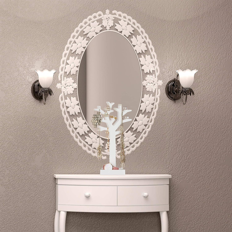 Metall mit Spiegel-Boden Schmuckhalter