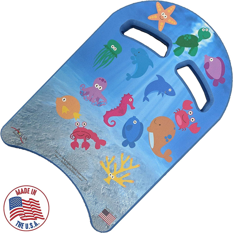Aquamentor Junior Learn-to-Swim Kickboard - Made in USA